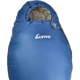 Alvivo Arctic Extreme 200 Sleeping Bag blue/grey